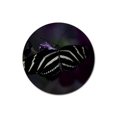 Butterfly 059 001 Drink Coaster (round)