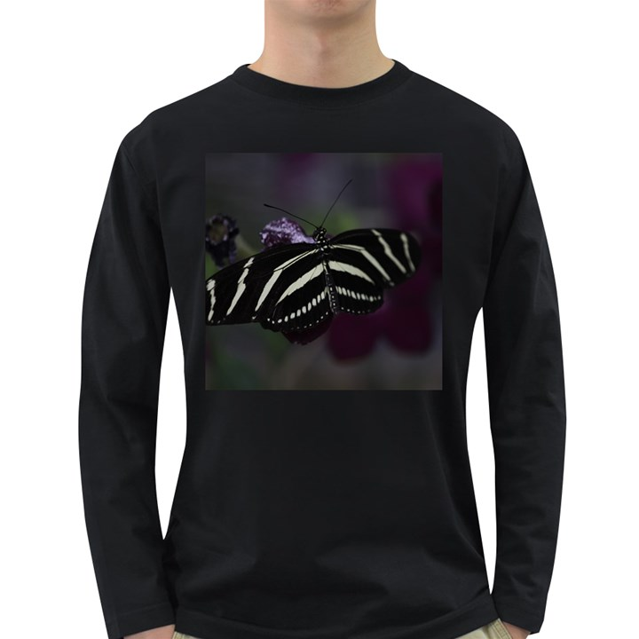 Butterfly 059 001 Mens' Long Sleeve T-shirt (Dark Colored)