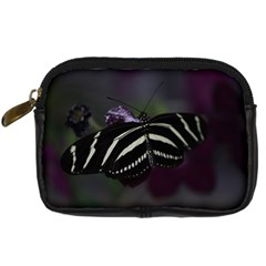 Butterfly 059 001 Digital Camera Leather Case