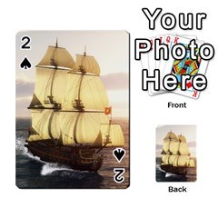 French Warship Playing Cards 54 Designs