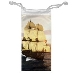 French Warship Jewelry Bag
