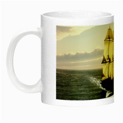 French Warship Glow in the Dark Mug
