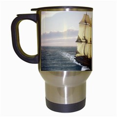 French Warship Travel Mug (White)