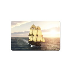French Warship Magnet (Name Card)