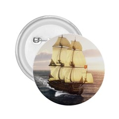 French Warship 2.25  Button