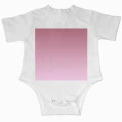 Puce To Pink Lace Gradient Infant Creeper