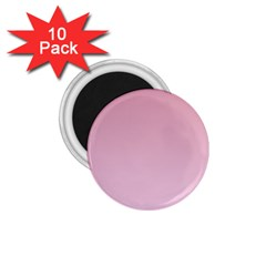 Puce To Pink Lace Gradient 1.75  Button Magnet (10 pack)