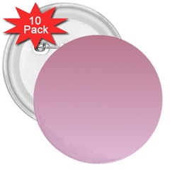 Puce To Pink Lace Gradient 3  Button (10 pack)
