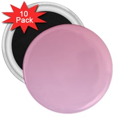 Puce To Pink Lace Gradient 3  Button Magnet (10 pack)