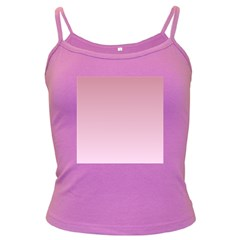 Puce To Pink Lace Gradient Spaghetti Top (Colored)