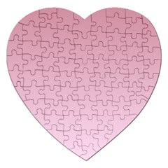 Puce To Pink Lace Gradient Jigsaw Puzzle (Heart)