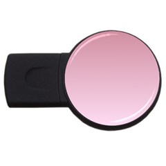 Puce To Pink Lace Gradient 4gb Usb Flash Drive (round)