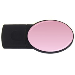 Puce To Pink Lace Gradient 4gb Usb Flash Drive (oval)