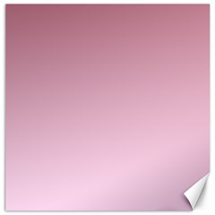 Puce To Pink Lace Gradient Canvas 12  X 12  (unframed)