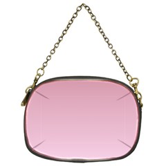 Puce To Pink Lace Gradient Chain Purse (One Side)
