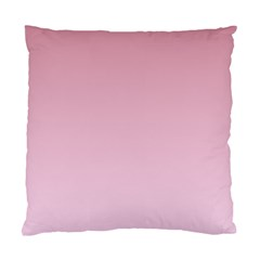 Puce To Pink Lace Gradient Cushion Case (one Side)