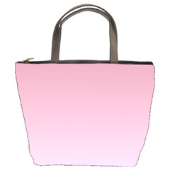 Puce To Pink Lace Gradient Bucket Bag