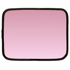 Puce To Pink Lace Gradient Netbook Case (xxl)