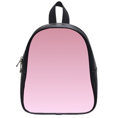 Puce To Pink Lace Gradient School Bag (Small)