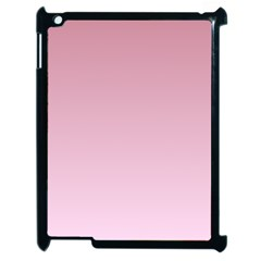 Puce To Pink Lace Gradient Apple iPad 2 Case (Black)