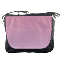 Puce To Pink Lace Gradient Messenger Bag