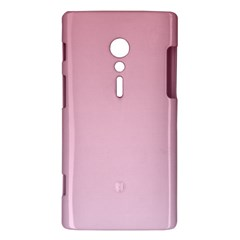 Puce To Pink Lace Gradient Sony Xperia ion Hardshell Case