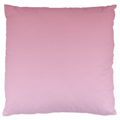 Puce To Pink Lace Gradient Large Cushion Case (Two Sides)