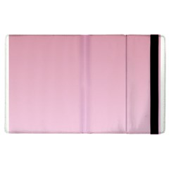 Puce To Pink Lace Gradient Apple iPad 2 Flip Case