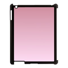 Puce To Pink Lace Gradient Apple Ipad 3/4 Case (black)