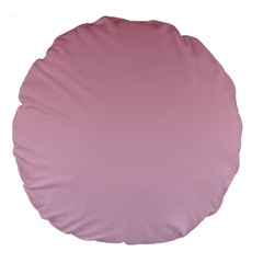Puce To Pink Lace Gradient 18  Premium Round Cushion