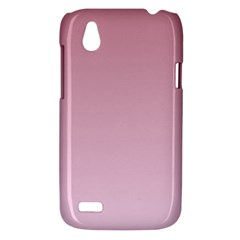 Puce To Pink Lace Gradient HTC T328W (Desire V) Case