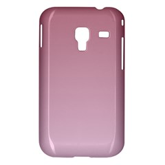 Puce To Pink Lace Gradient Samsung Galaxy Ace Plus S7500 Case