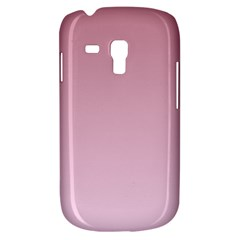 Puce To Pink Lace Gradient Samsung Galaxy S3 Mini I8190 Hardshell Case