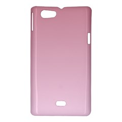 Puce To Pink Lace Gradient Sony Xperia Miro Hardshell Case