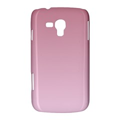 Puce To Pink Lace Gradient Samsung Galaxy Duos I8262 Hardshell Case