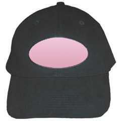 Pink Lace To Puce Gradient Black Baseball Cap