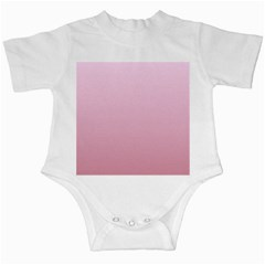 Pink Lace To Puce Gradient Infant Creeper