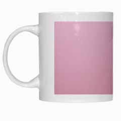 Pink Lace To Puce Gradient White Coffee Mug
