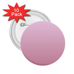 Pink Lace To Puce Gradient 2.25  Button (10 pack)