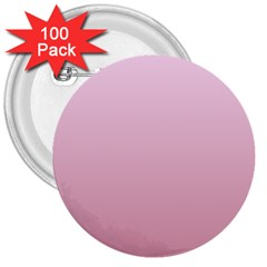 Pink Lace To Puce Gradient 3  Button (100 Pack)
