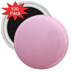 Pink Lace To Puce Gradient 3  Button Magnet (100 Pack)