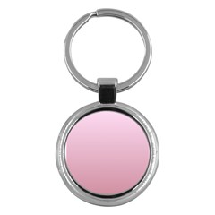 Pink Lace To Puce Gradient Key Chain (Round)