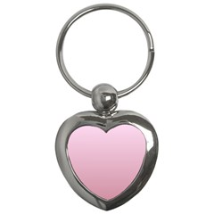 Pink Lace To Puce Gradient Key Chain (heart)