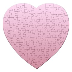 Pink Lace To Puce Gradient Jigsaw Puzzle (Heart)