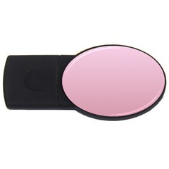 Pink Lace To Puce Gradient 4gb Usb Flash Drive (oval)