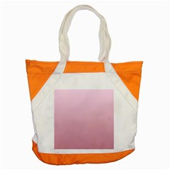 Pink Lace To Puce Gradient Accent Tote Bag