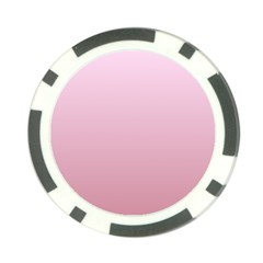 Pink Lace To Puce Gradient Poker Chip