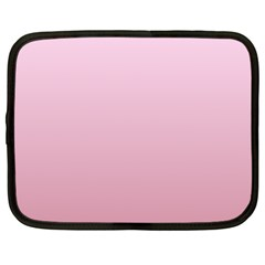 Pink Lace To Puce Gradient Netbook Case (large)