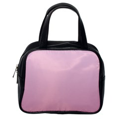 Pink Lace To Puce Gradient Classic Handbag (one Side)