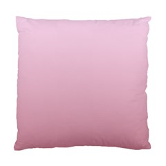 Pink Lace To Puce Gradient Cushion Case (one Side)